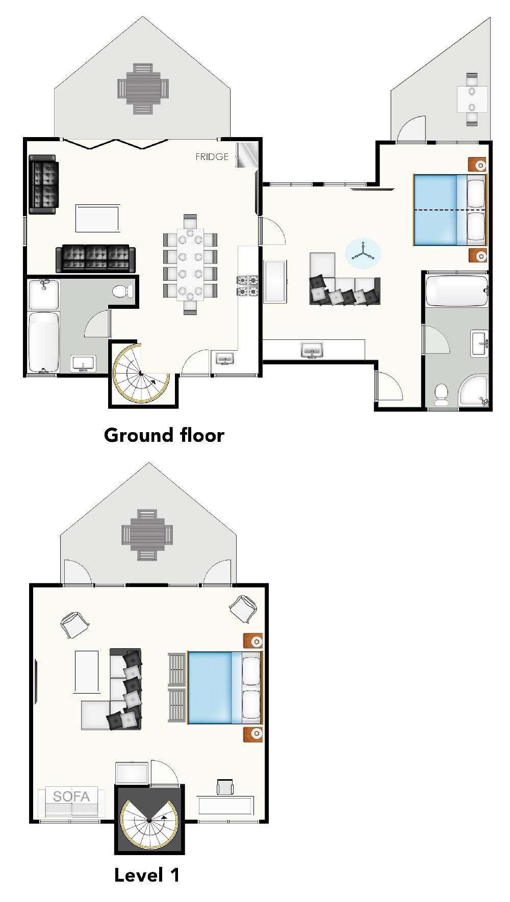 Brokenback-country-views-country-estate-hunter-valley-two-bedroom-loft-villa